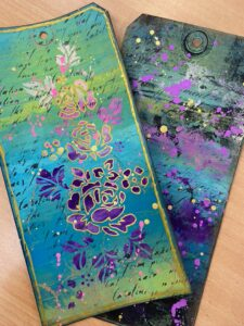 Gel Plates with Jean & Heather